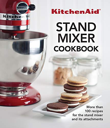 KitchenAid? Stand Mixer Cookbook 9781680220940 The KitchenAid stand mixer and its attachments can make quick work of anything. With the recipes in this book and stand mixer attachments you can grind meat, stuff sausage, make pasta and ravioli, freeze ice cream, shred, slice and dice vegetables, juice fruits and vegetables and even grind your own flour! Chapters include: Breakfast; Juice and Coffee; Appetizers; Entrees; Side Dishes; Pasta; Bread; and Dessert. There are more than 100 recipes for everything from fresh juice to layer cakes, with everything in between: burgers made from freshly ground meat, macaroni extruded through the Pasta Press, applesauce made from freshly juiced apples, and hearty rye bread made from freshly ground rye and wheat berries. Gorgeous end-dish photos accompany almost every recipe. Alternate cover of ISBN-13: 9781680220766