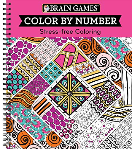 Color by Number Pink