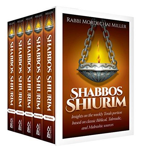 9781680252071: Shabbos Shiurim, 5 Volume Set