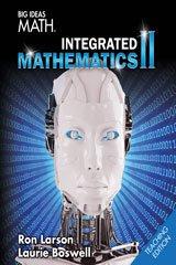 9781680330700: BIG IDEAS MATH Integrated Math 2: Teacher Edition 2016
