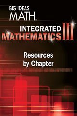 9781680330939: BIG IDEAS MATH Integrated Math 3: Resources by Chapter