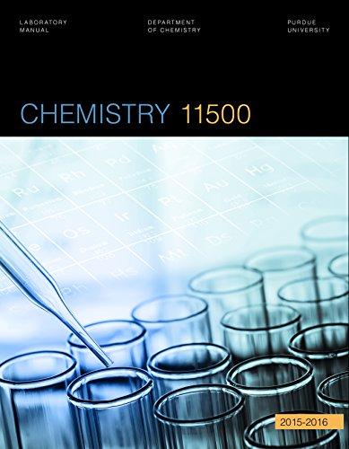 9781680360936: Chemistry 11500 Laboratory Manual