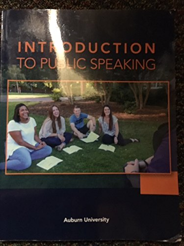 9781680363074: Introduction to Public Speaking Auburn University
