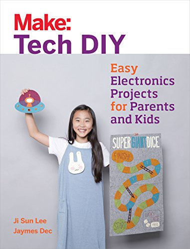 Make: Tech DIY: Easy Electronics Projects for Parents and Kids 9781680451771 Make: Tech DIY introduces younger children to the magic of electronics through the softer side of circuits! Young explorers will learn a
