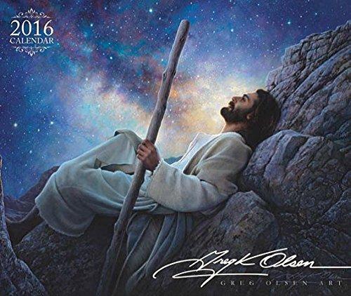 9781680472158: Greg Olsen 2016 Calendar 6
