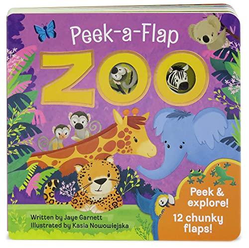 Zoo: Peek-a-Flap Board Book: Jaye Garnett