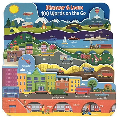 100 Words on the Go: Interactive Board Book (Discover & Learn): Redd Byrd