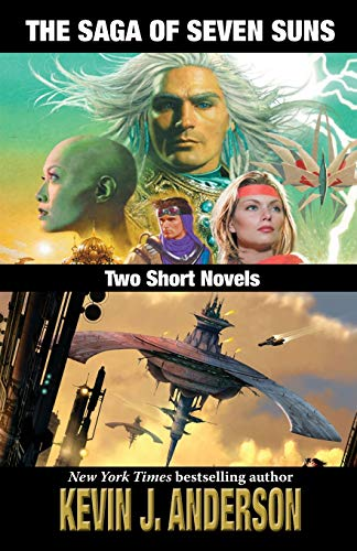 9781680570441: The Saga of Seven Suns: TWO SHORT NOVELS: Includes Veiled Alliances and Whistling Past the Graveyard