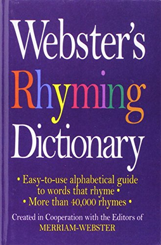 9781680651911: Webster's Rhyming Dictionary