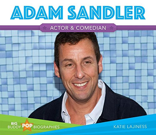 9781680780598: Adam Sandler (Big Buddy Pop Biographies)