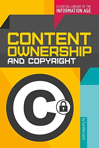 Content Ownership and Copyright: Carolee Laine
