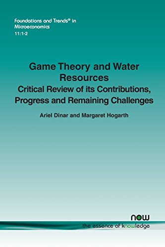 Game Theory and Water Resources: Critical review: Dinar, Ariel, Hogarth,