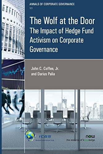 9781680830767: The Wolf at the Door: The Impact of Hedge Fund Activism on Corporate Governance (Annals of Corporate Governance)
