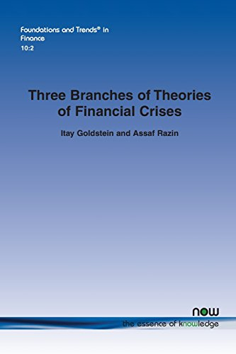 9781680830842: Three Branches of Theories of Financial Crises (Foundations and Trends(r) in Finance)
