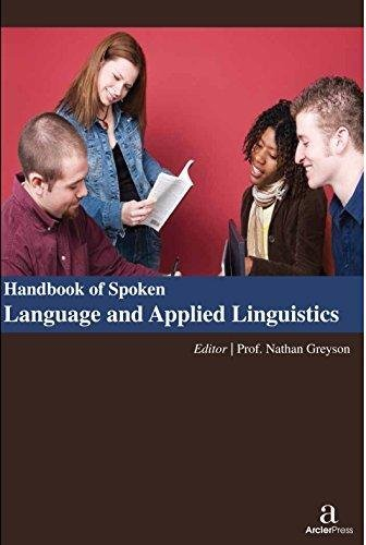 9781680941593: Handbook of Spoken Language and Applied Linguistics