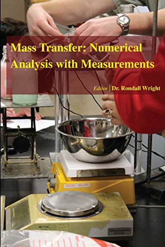 9781680952100: Mass Transfer: Numerical Analysis with Measurements