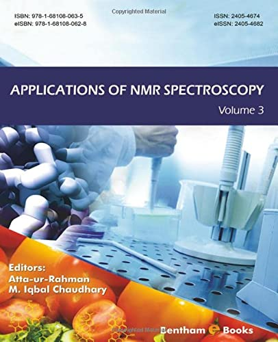 9781681080635: Applications of NMR Spectroscopy: Volume 3