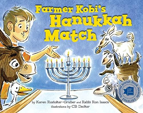 9781681155012: Farmer Kobi's Hanukkah Match