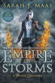 9781681193571: Empire of Storms (B&N Exclusive Edition) (Throne of Glass Series #5)