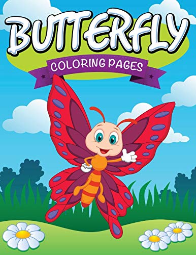 9781681273785: Butterfly Coloring Pages