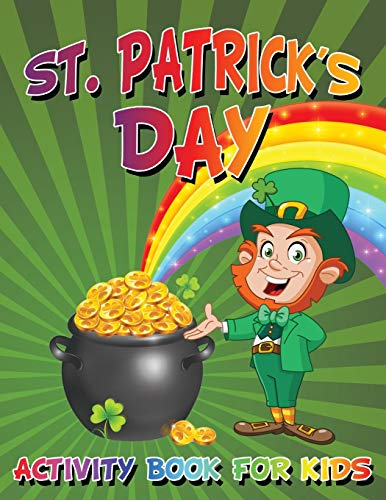 9781681275772: St. Patrick's Day Activity Book For Kids