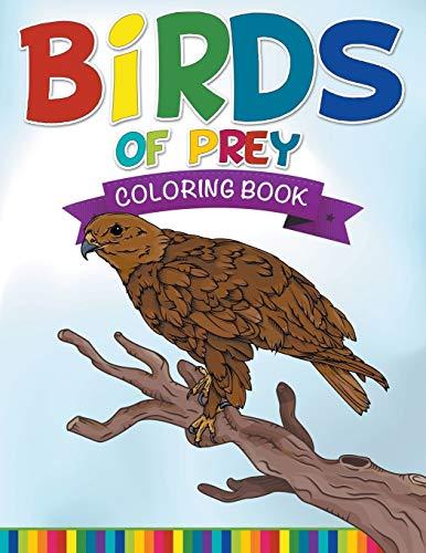 9781681278643: Birds Of Prey Coloring Book