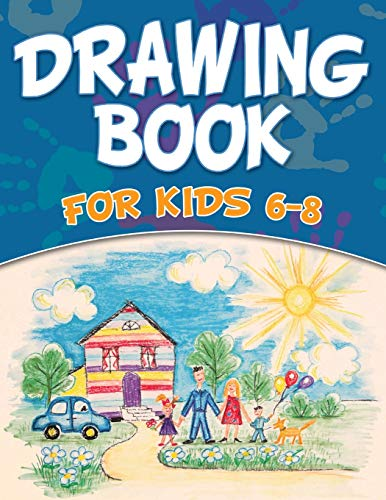 9781681452487: Drawing Book For Kids 6-8