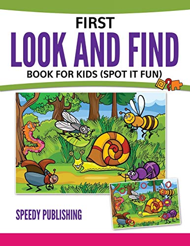 9781681452869: First Look And Find Book For Kids: (Spot It Fun)