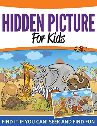 9781681456041: Hidden Pictures For Kids: Find It If You Can! Seek and Find Fun