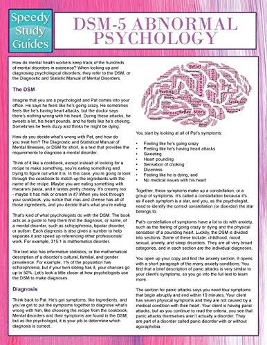 9781681456621: DSM-5 Abnormal Psychology (Speedy Study Guides)