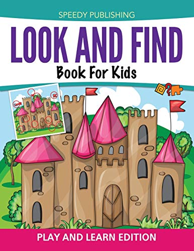 9781681457031: Look And Find Book For Kids: Play and Learn Edition