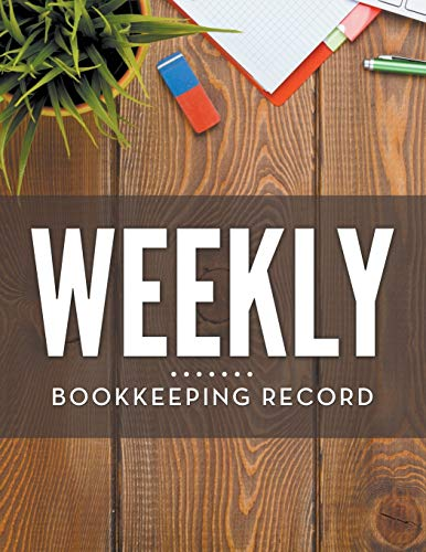 9781681457390: Weekly Bookkeeping Record