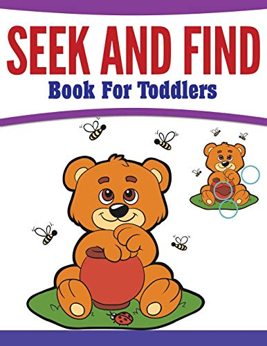 9781681458427: Seek And Find Book For Toddlers