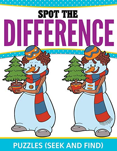 9781681458571: Spot The Difference Puzzles: (Seek and Find)