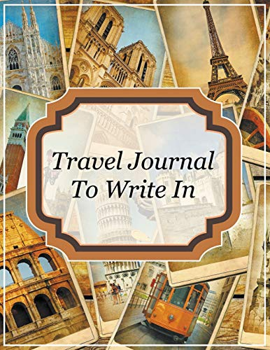 9781681458625: Travel Journal To Write In