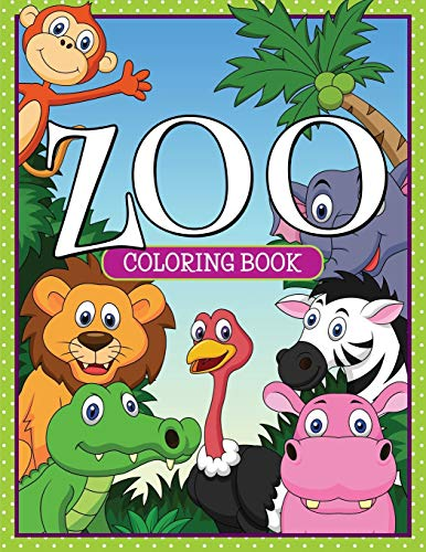 9781681459721: Zoo Coloring Book