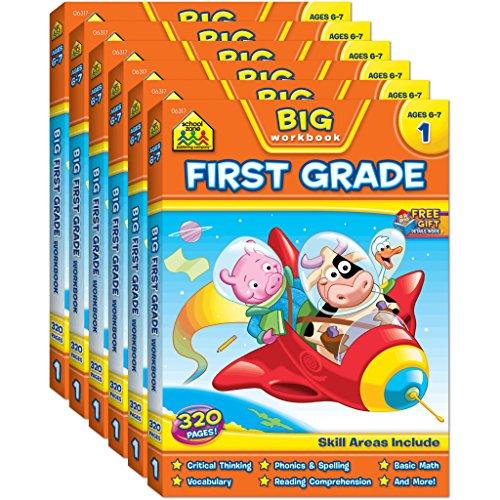 9781681470702: (6-Pack) Big First Grade Workbook (6 x 06317R)