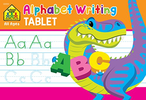 Alphabet Writing Tablet 9781681471129 Alphabet Writing Tablet. Kids will love writing their ABCs with their very own alphabet writing tablet. Traceable upper and lowercase le