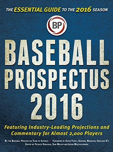 9781681621111: Baseball Prospectus 2016