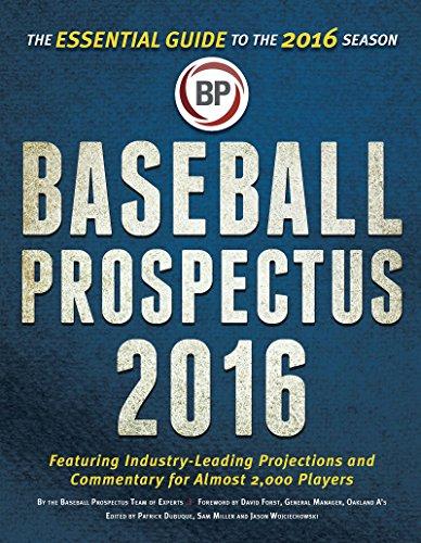 9781681621180: Baseball Prospectus 2016