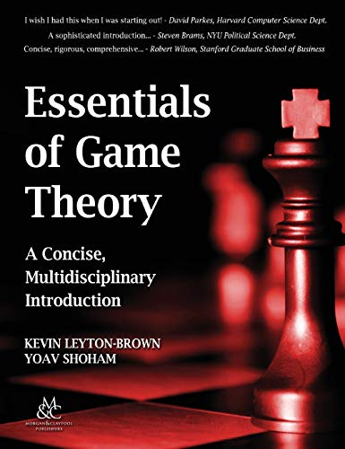 9781681732251: Essentials of Game Theory: A Concise, Multidisciplinary Introduction (Synthesis Lectures on Artificial Intelligence and Machine Le)