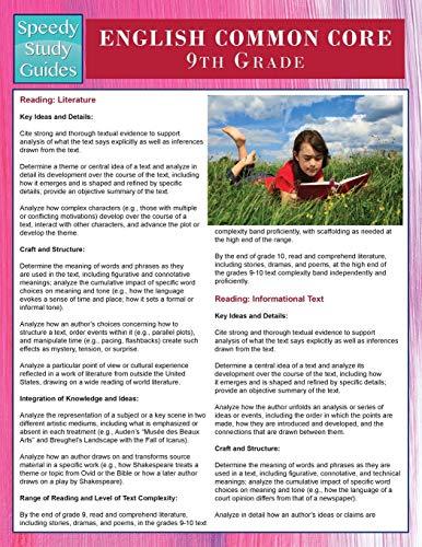 English Common Core 9th Grade (Speedy Study: Publishing LLC, Speedy