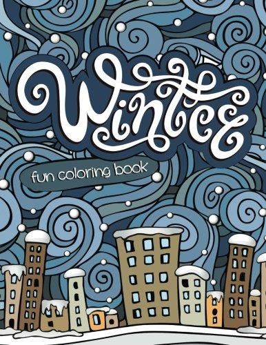 9781681854526: Winter Fun Coloring Book