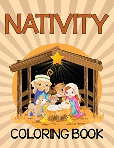 9781681854663: Nativity Coloring Book (Bible Edition)