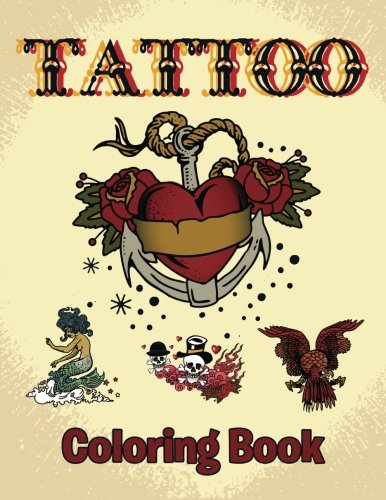 9781681854748: Tattoo Coloring Book