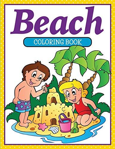 9781681854861: Beach Coloring Book