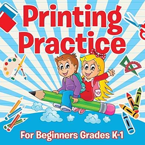 9781681855455: Printing Practice For Beginners Grades K-1