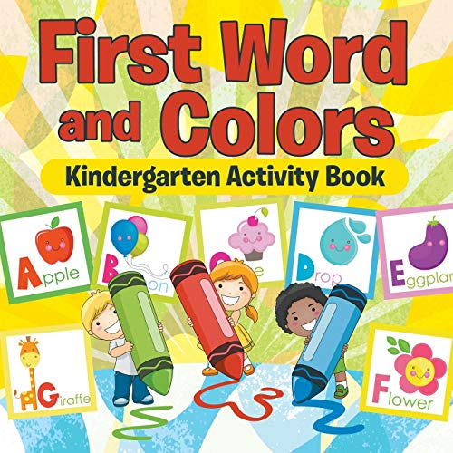 9781681855905: First Words and Colors Kindergarten Activity Book