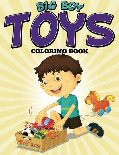 9781681859965: Big Boy Toys Coloring Book