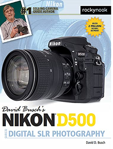 9781681981468: David Busch's Nikon D500 Guide to Digital SLR Photography